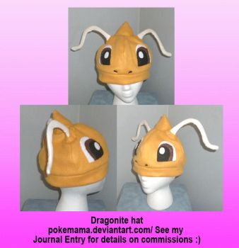Dragonite hat by PokeMama