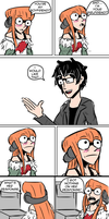 Persona 5- Response by waitwtf