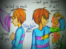 [Undertale] You Have the Whole World by Hinarah59