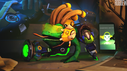 Angry frog Lucio by Roboew