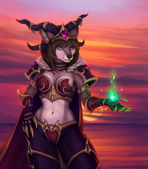 Alexstrasza cosplay [commission] by Artist-LaiNa