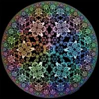 Hyperbolic Snowflakes by bryceguy72