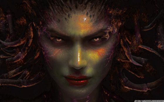 Infested(?) Kerrigan by ArcaneDystopia