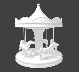 Carousel For Arcade SL WIP by suetabulous