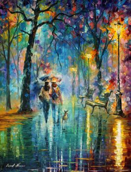 Little Friend by Leonid Afremov