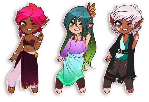 Elf adopts [CLOSED] by CrispyCh0colate