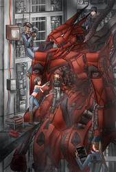 fixing the red giant by K-Nashi