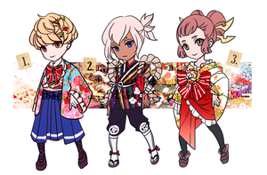 ADOPTABLE SET 35: a letter from kyoto... | CLOSED by CARPFISH