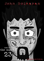 the number 23 by cubedpork
