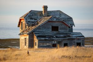 Old house by anticostiphotos