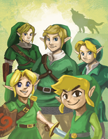 The Triforce of Courage by Zironix