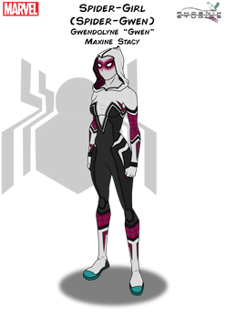 Spider-Girl (Spider-Gwen) by Kyle-A-McDonald