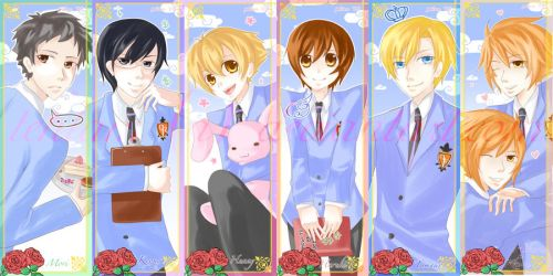 Ouran Bookmarks by tehlam