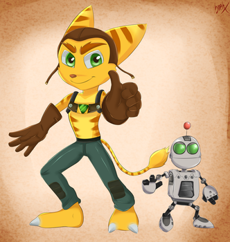 Ratchet and Clank by Hyper-Cross