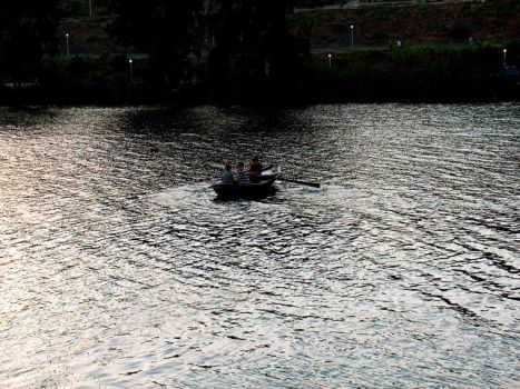 boat and child by nagehan