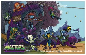 Lil' Masters Villians by irongiant775