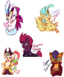 Some Good Characters by TheSoleil