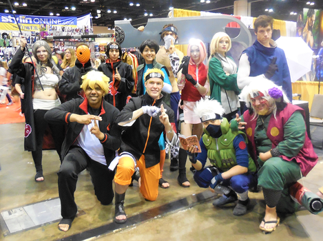 Naruto Group at MegaCon 2018 by R-Legend