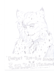 The 'David Bowie' Of CATS by Kabuki-Sohma