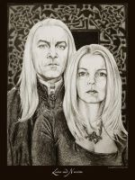 Lucius and Narcissa by Ellygator