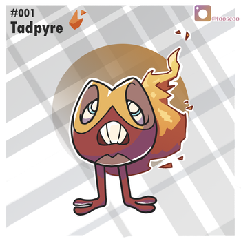 Tadpyre #001 by CrazyWizBiz