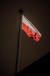 Polish flag by parsek76