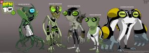 BEN 10:DNA Lab Hybrids:Unused1 by tnperkins