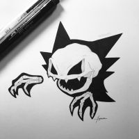 Skeletal Haunter by WolfJayden