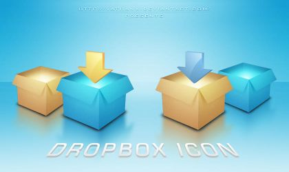 Dropbox Icon by Vathanx