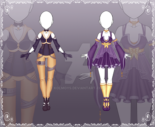 [Free to use][Free stock] Adoptable Outfits by Kolmoys
