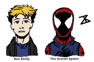 Ben Reilly is The Scarlet Spider by FreakyComics