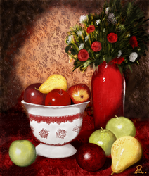 Fruits and Roses by MarianthiZ