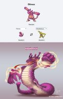 Pokemon Fusions - Ekbuzz by YelZamor