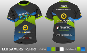 ELITGAMERS T-shirt by snowy1337