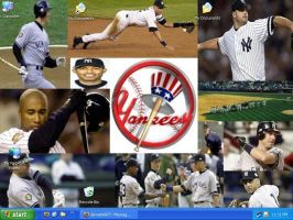 Yankees Collage by drumgirl