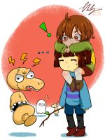Undertale: Ghosts by CottonCatRie
