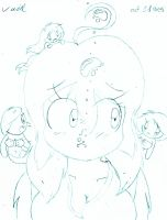 HbB ~ Aika and Some Chibi Mermaids by Son-Void