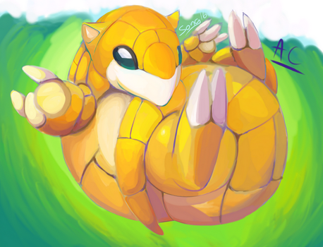 Sandshrew! by UndyingSong