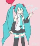 Happy B-day Miku~ by JazCooper