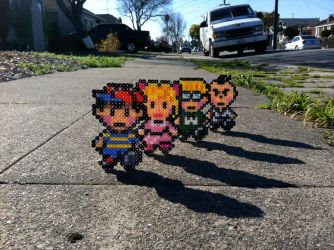 The EarthBound Team by Night-TAG