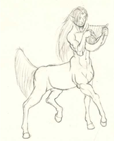 Centaur by KingStargazerDraws