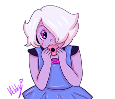 Little Amethyst by kawaii-little-neko