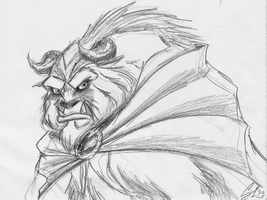 Beast Fast Sketch by giulal
