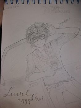 Luciel Choi '707' from MYSTIC MESSENGER by Noracchi