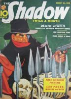 The Shadow - Death Jewels cover by SavageScribe
