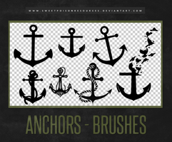 Anchors - Brushes by sweetpoisonresources