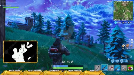 [GOLD] Victory Royale 2018 - Stream Overlay by lol0verlay