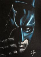 Batman Dark Knight - pastel by Gimix1974