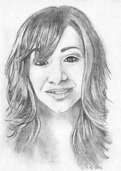 H Portait in Pencil by alfred24