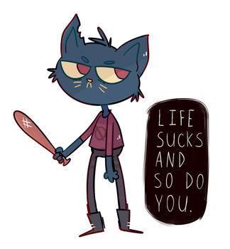 Night in The Woods by Pandalana